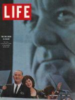Life Magazine, September 4, 1964 - President Johnson and daughter Lynda