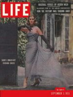Life Magazine, September 5, 1955 - Parisian glamour
