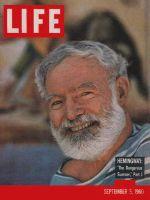 Life Magazine, September 5, 1960 - Ernest Hemingway