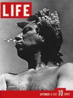 Life Magazine, September 6, 1937 - Harpo Marx