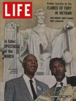 Life Magazine, September 6, 1963 - Washington march leaders