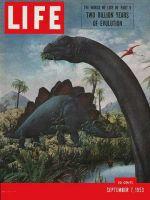 Life Magazine, September 7, 1953 - Evolution, dinosaurs