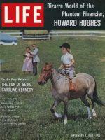 Life Magazine, September 7, 1962 - Caroline Kennedy on her pony