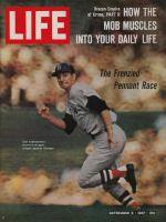 Life Magazine, September 8, 1967 - Carl Yastrzemski, baseball