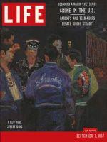 Life Magazine, September 9, 1957 - World of crime, gang