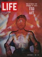 Life Magazine, September 9, 1966 - Psychedelic artist, LSD art