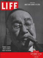Life Magazine, September 10, 1951 - Japan's Prime Minister Yoshida