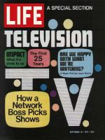 Life Magazine, September 10, 1971 - Composite: Television's 25th Anniversary