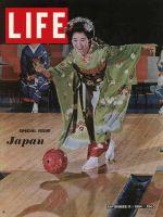 Life Magazine, September 11, 1964 - Geisha bowling