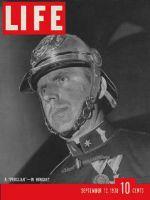 Life Magazine, September 12, 1938 - Hungarian guard
