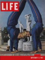 Life Magazine, September 12, 1960 - Gymnasts in Rome