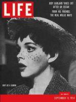 Life Magazine, September 13, 1954 - Judy Garland