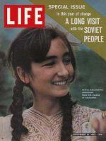 Life Magazine, September 13, 1963 - Soviet schoolgirl