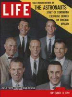 Life Magazine, September 14, 1959 - Seven astronauts