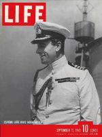 Life Magazine, September 15, 1941 - Lord Mountbatten