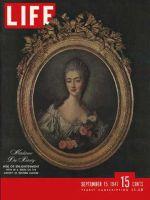 Life Magazine, September 15, 1947 - Madame Du Barry