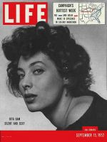 Life Magazine, September 15, 1952 - Rita Gam