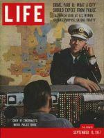 Life Magazine, September 16, 1957 - Prize police force