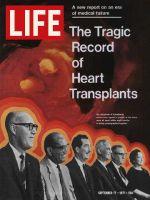 Life Magazine, September 17, 1971 - Heart transplant patients