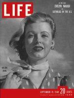 Life Magazine, September 19, 1949 - Arlene Dahl