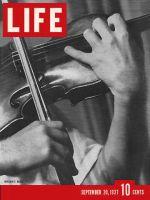 Life Magazine, September 20, 1937 - Violin