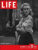 Life Magazine, September 20, 1948 - Actress Joan Diener