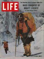 Life Magazine, September 20, 1963 - U.S. team on Mt. Everest