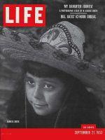 Life Magazine, September 21, 1953 - Eugene Smith's daughter
