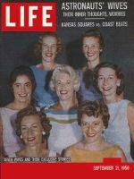 Life Magazine, September 21, 1959 - Seven astronauts wives