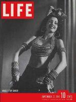 Life Magazine, September 22, 1941 - Brazilian dancer Eros Volusia