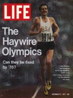 Life Magazine, September 22, 1972 - Olympic Marathoner Frank Shorter