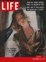Life Magazine, September 23, 1957 - Suzy Parker
