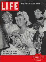 Life Magazine, September 24, 1951 - Gene Tierney