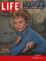 Life Magazine, September 24, 1956 - Janet Blair