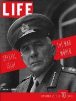 Life Magazine, September 25, 1939 - Britain's Ironside