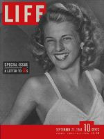Life Magazine, September 25, 1944 - American home front, woman