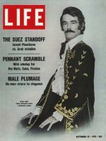 Life Magazine, September 25, 1970 - Male plumage in fashion