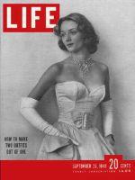 Life Magazine, September 26, 1949 - Separates, fashion