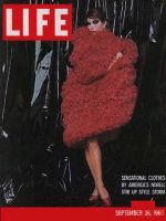 Life Magazine, September 26, 1960 - Norell Styles, fashion