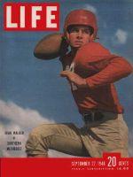 Life Magazine, September 27, 1948 - SMU's Doak Walker