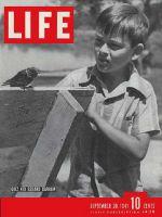 Life Magazine, September 29, 1941 - Radio Quiz Kid Gerald Darrow