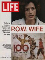 Life Magazine, September 29, 1972 - POW wife