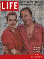 Life Magazine, September 30, 1957 - Kendall and Harrison