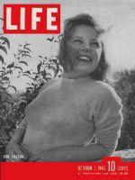 Life Magazine, October 1, 1945 - June Allyson