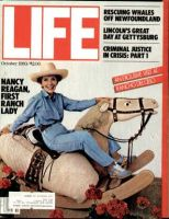 Life Magazine, October 1, 1983 - Nancy Reagan