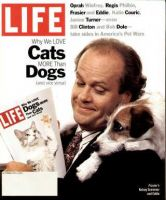 Life Magazine, October 1, 1994 - Cats And Dogs, Frasier And Eddie