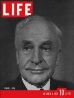Life Magazine, October 2, 1939 - Cordell Hull