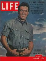 Life Magazine, October 3, 1955 - Rock Hudson