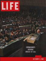 Life Magazine, October 3, 1960 - Eisenhower at United Nations