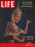 Life Magazine, October 4, 1954 - Thai visitor